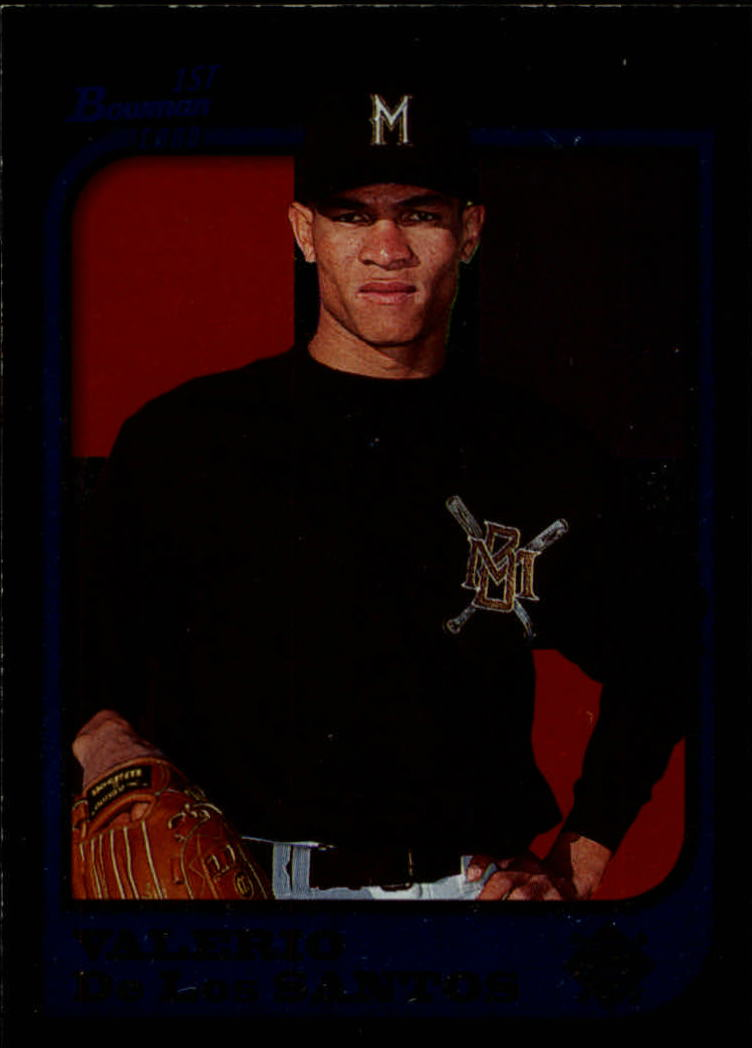 1997 Bowman International #319 Valerio De Los Santos