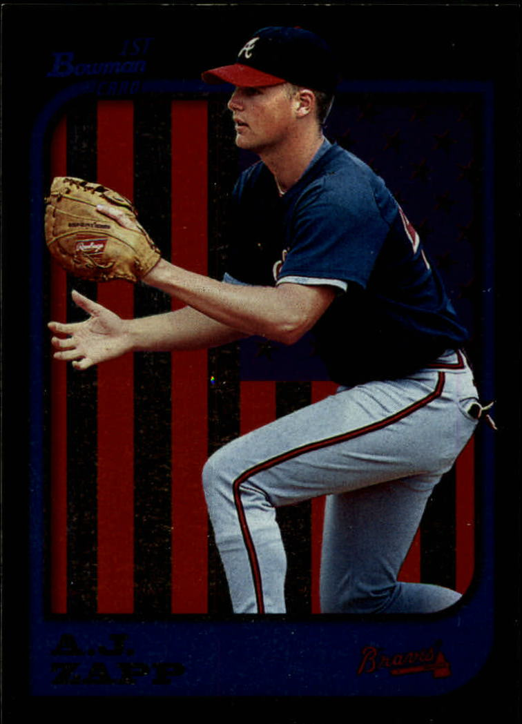1997 Bowman International #384 A.J. Zapp