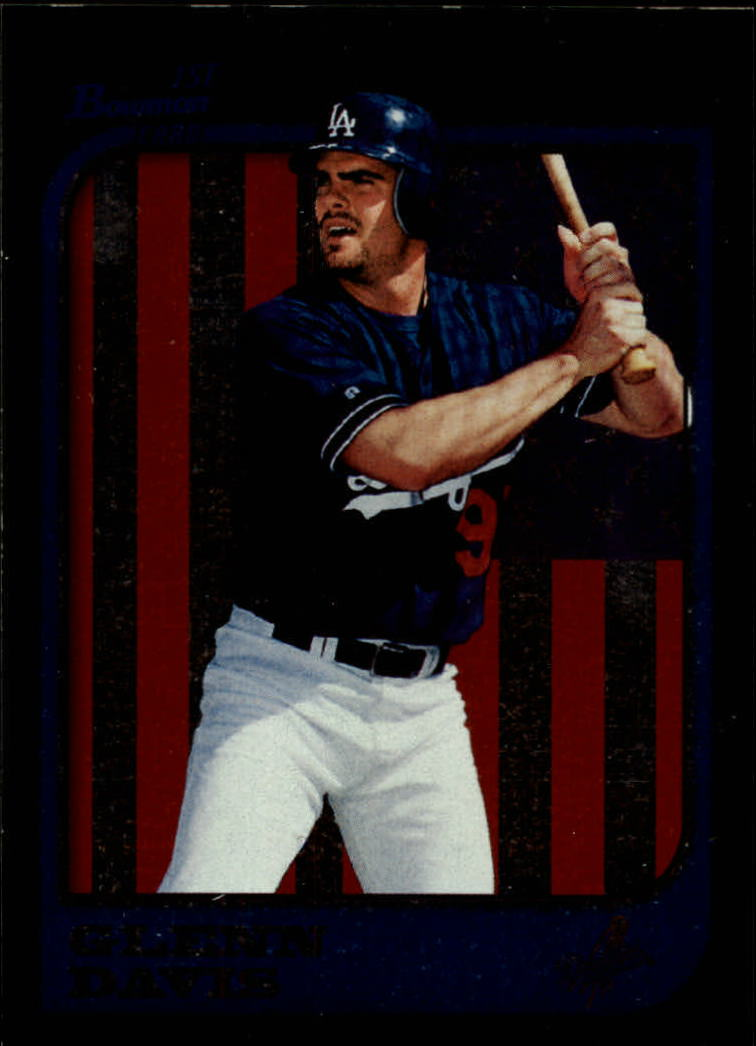 1997 Bowman International #434 Glenn Davis