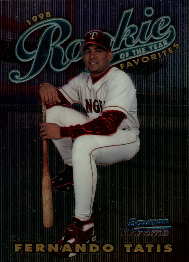 1997 Bowman 1998 ROY Favorites #ROY15 Fernando Tatis