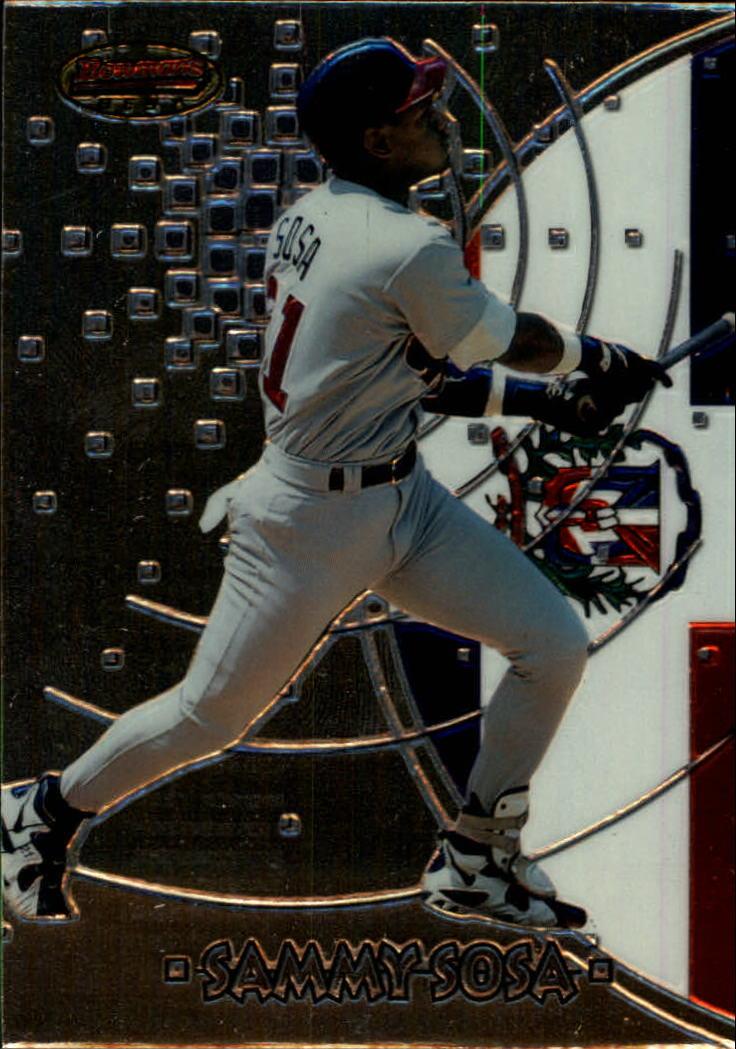 1997 Bowman International Best #BBI6 Sammy Sosa