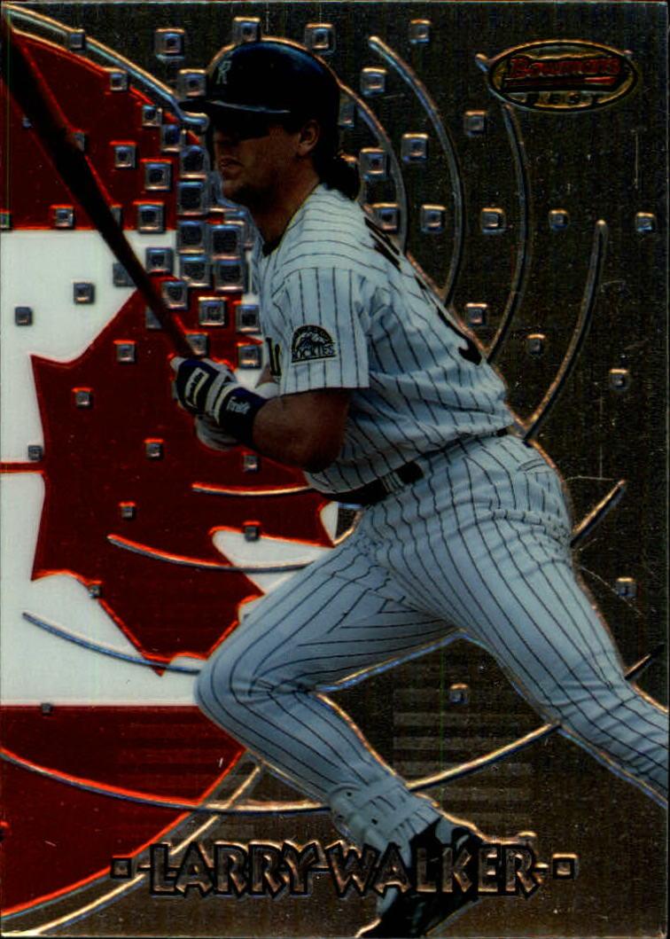 1997 Bowman International Best #BBI7 Larry Walker
