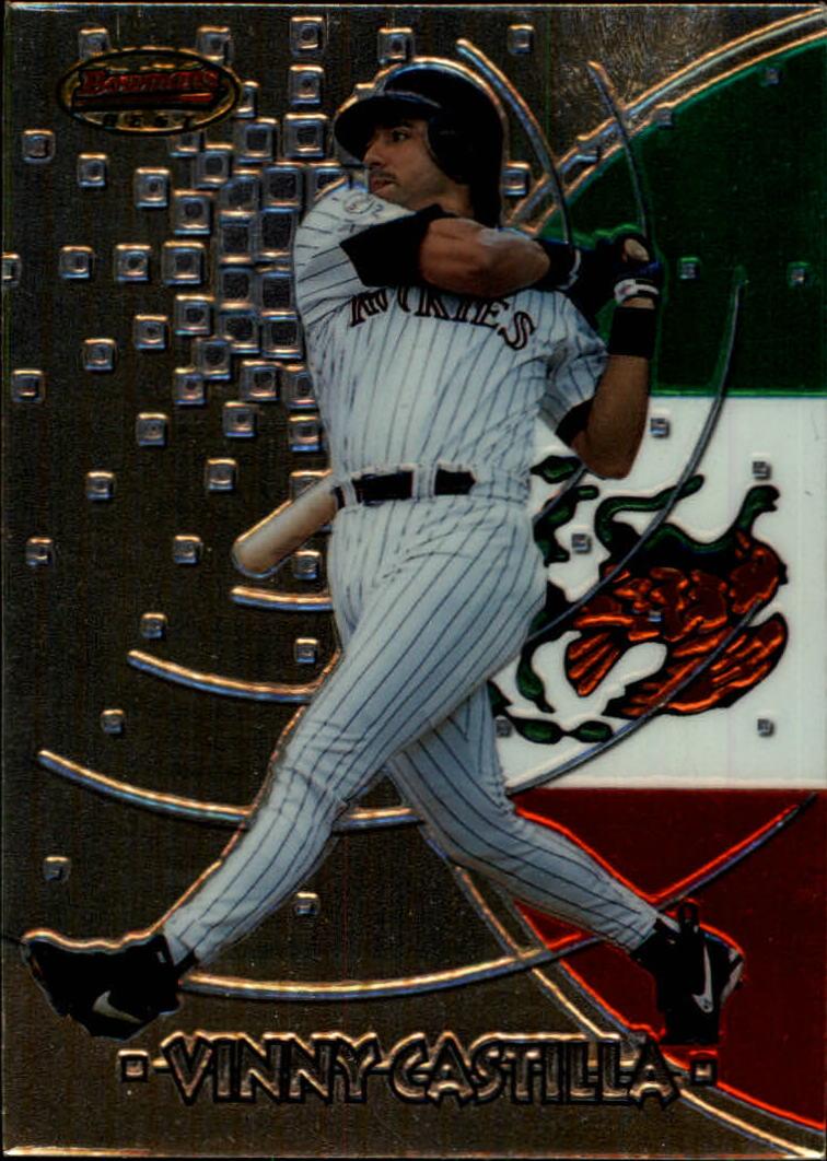 1997 Bowman International Best #BBI8 Vinny Castilla
