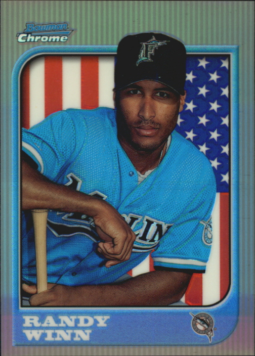 1997 Bowman Chrome International Refractors #223 Randy Winn