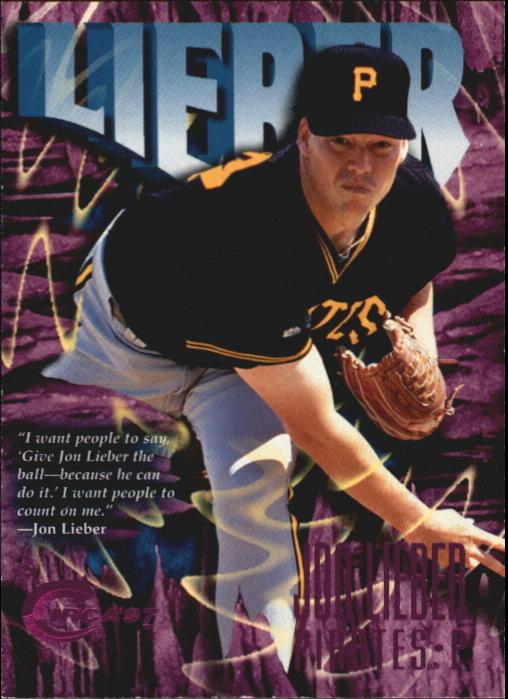 1997 Circa Rave #4 Jon Lieber
