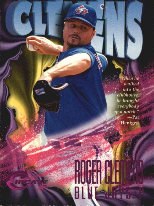 1997 Circa Rave #21 Roger Clemens