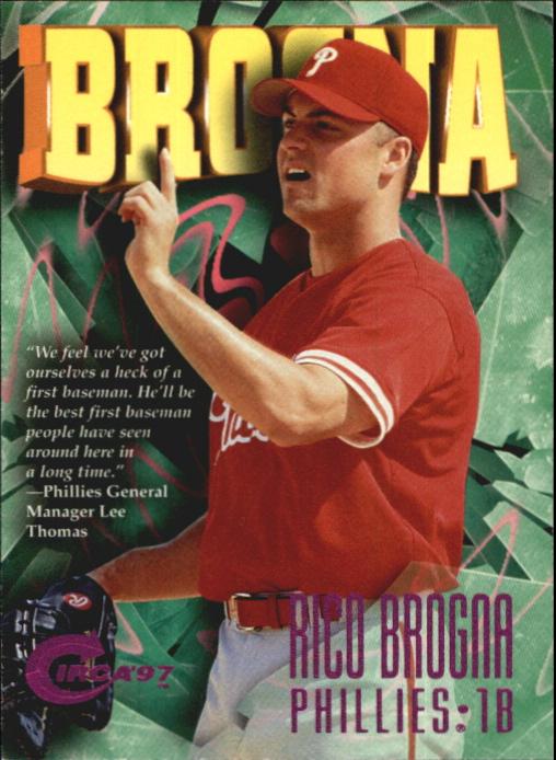 1997 Circa Rave #29 Rico Brogna