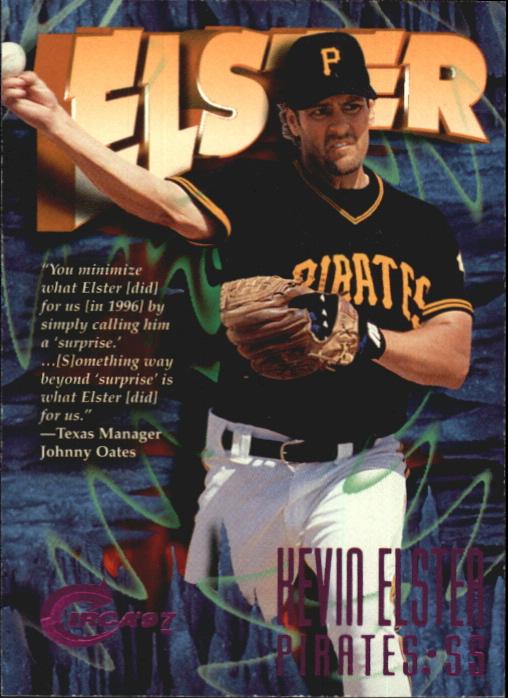 1997 Circa Rave #34 Kevin Elster