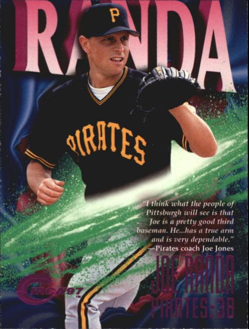 1997 Circa Rave #61 Joe Randa