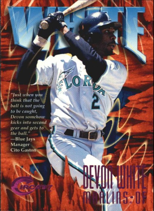1997 Circa Rave #64 Devon White