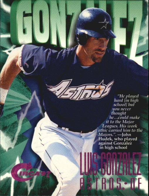 1997 Circa Rave #68 Luis Gonzalez