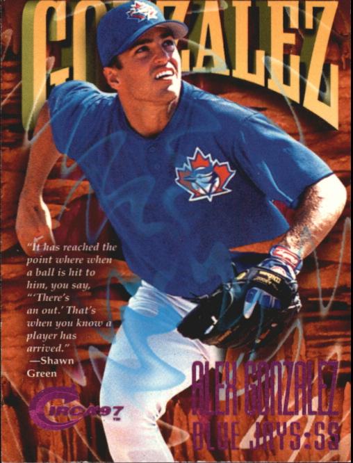 1997 Circa Rave #89 Alex Gonzalez