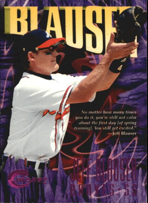 1997 Circa Rave #94 Jeff Blauser