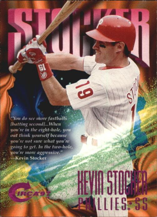 1997 Circa Rave #121 Kevin Stocker