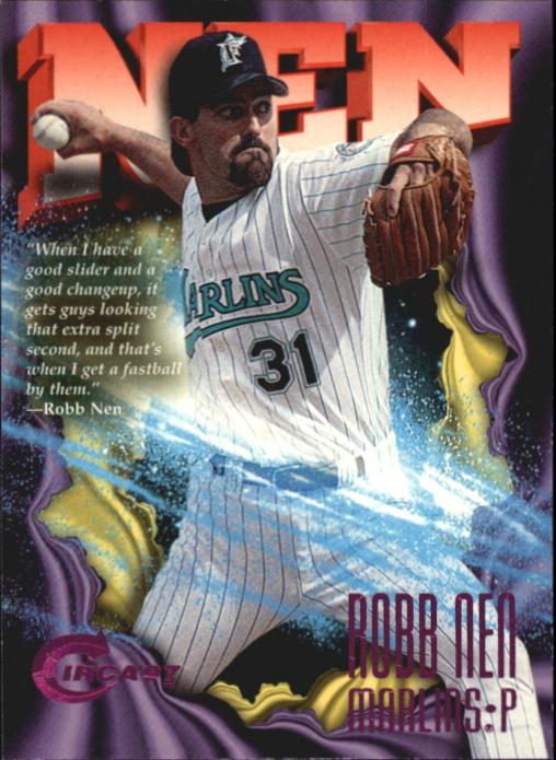 1997 Circa Rave #151 Robb Nen