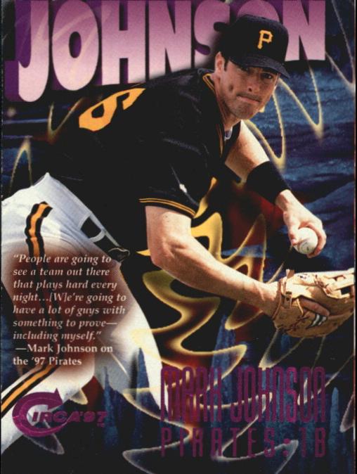 1997 Circa Rave #169 Mark Johnson