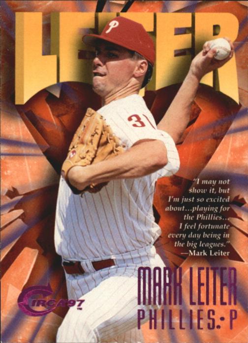 1997 Circa Rave #170 Mark Leiter