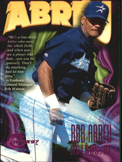 1997 Circa Rave #246 Bob Abreu
