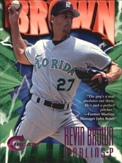 1997 Circa Rave #268 Kevin Brown