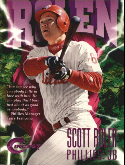 1997 Circa Rave #283 Scott Rolen
