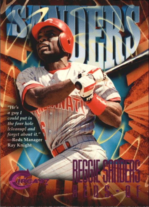 1997 Circa Rave #284 Reggie Sanders