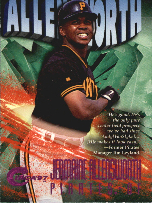 1997 Circa Rave #290 Jermaine Allensworth