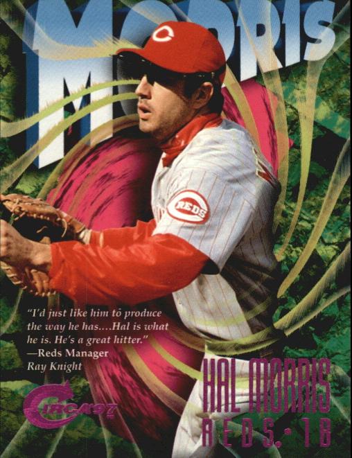 1997 Circa Rave #372 Hal Morris