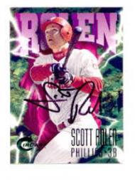 1997 Circa Emerald Autographs #283 Scott Rolen