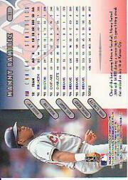 1997 Donruss #11 Manny Ramirez back image
