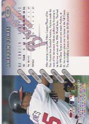 1997 Donruss #358 Andruw Jones back image