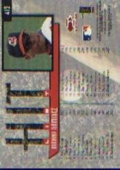 1997 Donruss #412 Manny Ramirez HIT back image