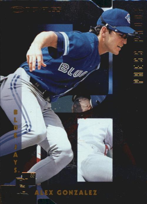 1997 Donruss Gold Press Proofs #202 Alex Gonzalez