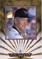 1997 Donruss Elite Passing the Torch #1 Cal Ripken
