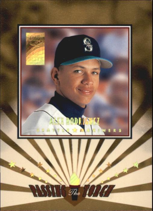 1997 Donruss Elite Passing the Torch #2 Alex Rodriguez