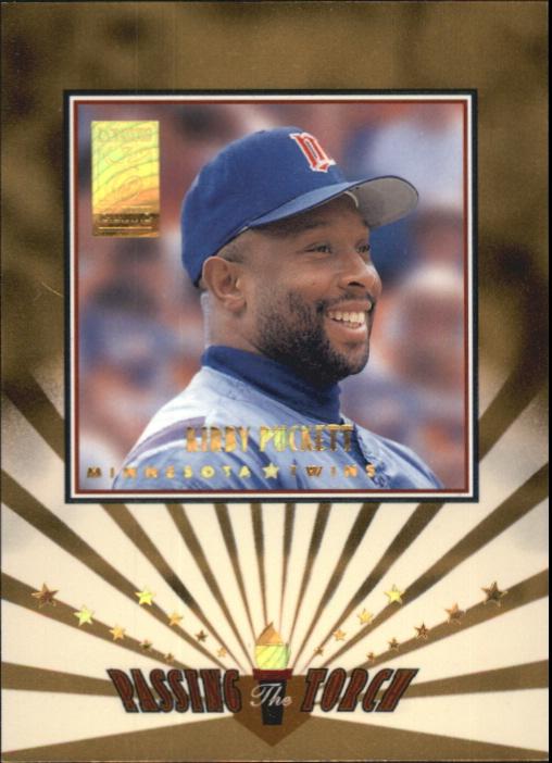 1997 Donruss Elite Passing the Torch #6 K.Puckett/A.Jones