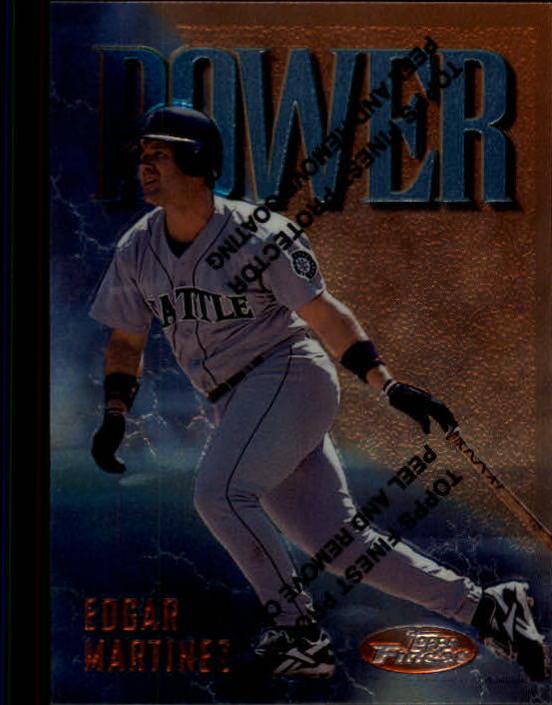 1997 Finest #99 Edgar Martinez B