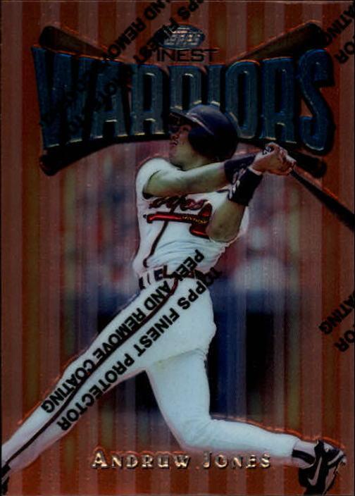 1997 Finest #100 Andruw Jones B