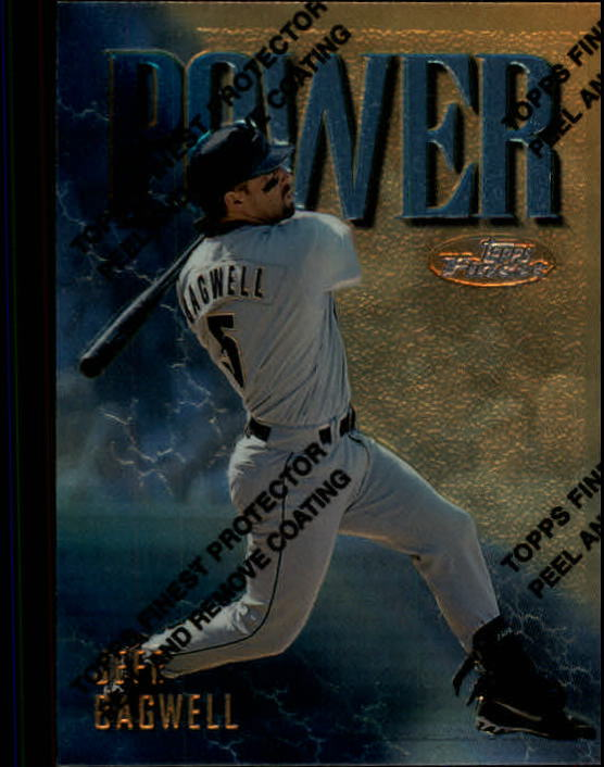 1997 Finest #159 Jeff Bagwell G