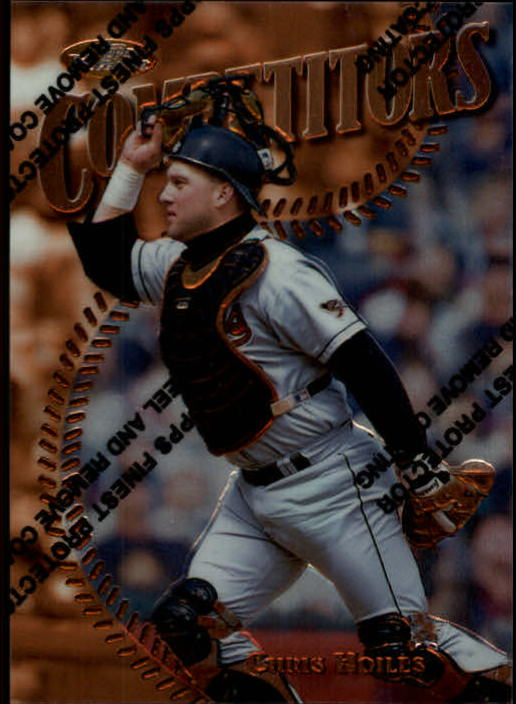 1997 Finest #195 Chris Hoiles B