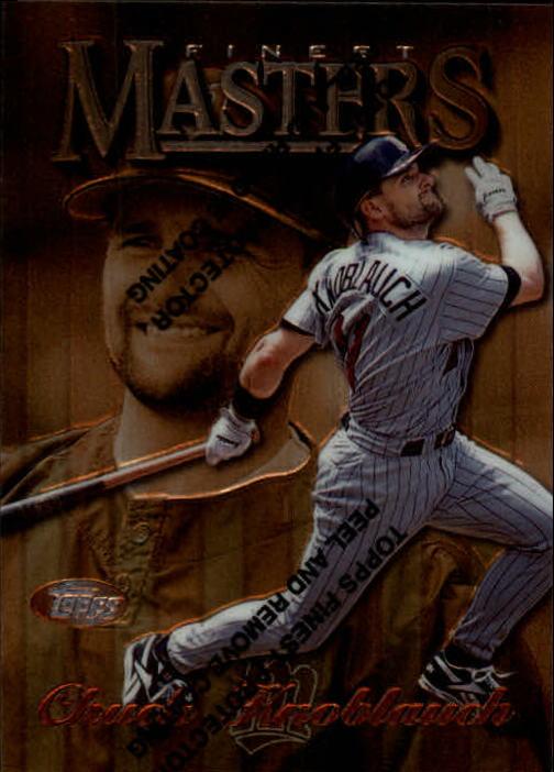 1997 Finest #214 Chuck Knoblauch B