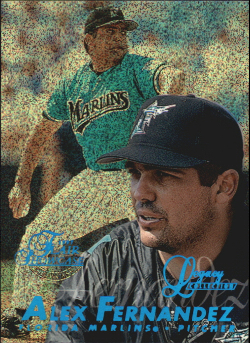 1997 Flair Showcase Legacy Collection Row 0 #133 Alex Fernandez