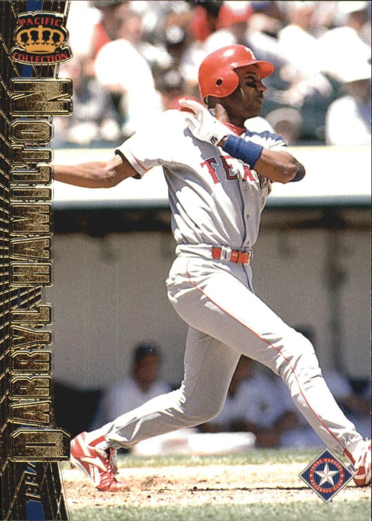 1997 Pacific #202 Darryl Hamilton
