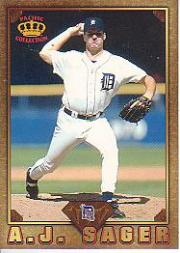 1997 Pacific Prisms Gems of the Diamond #GD44 A.J. Sager