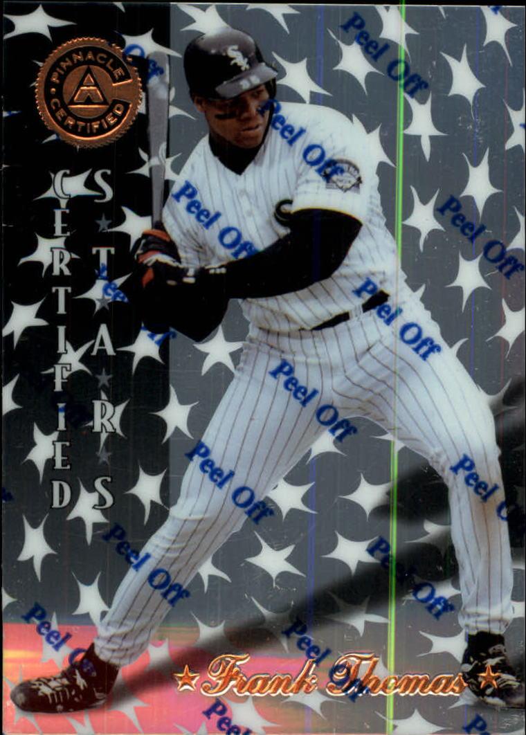 1997 Pinnacle Certified #148 Frank Thomas CERT
