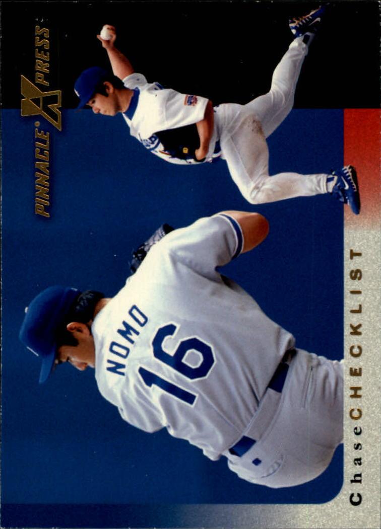 1997 Pinnacle X-Press #150 Hideo Nomo CL