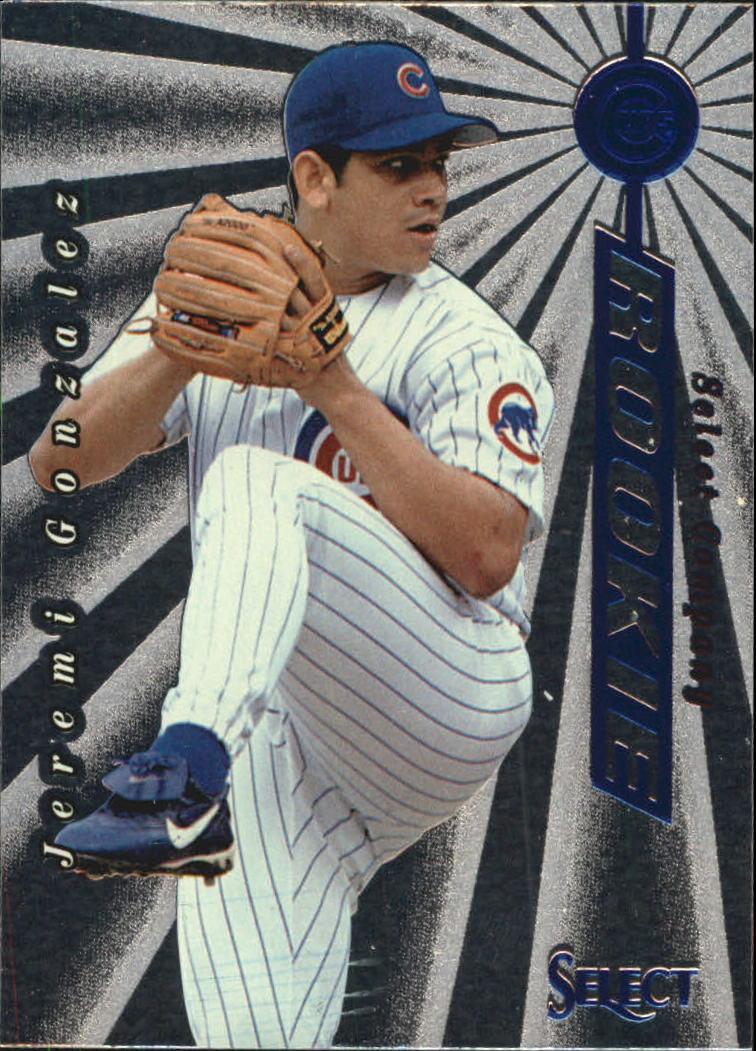 1997 Select Company #156 Jeremi Gonzalez