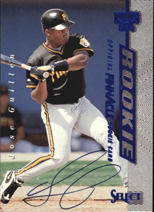 1997 Select Rookie Autographs #1 Jose Guillen/3000