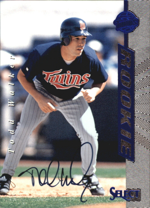 1997 Select Rookie Autographs #4 Todd Walker/3000