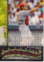 1997 Stadium Club #200 Ivan Rodriguez back image