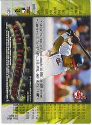 1997 Stadium Club #244 Manny Ramirez back image